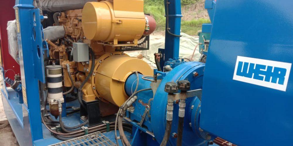 Pompa Dewatering Multiflo terbaik di proyek tambang batubara