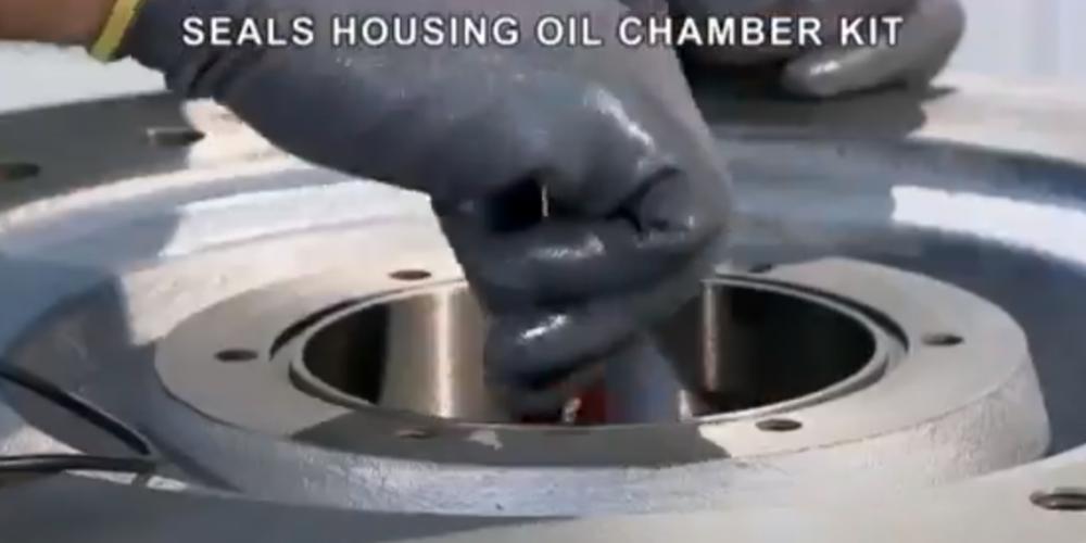 Ganti bearing draglow