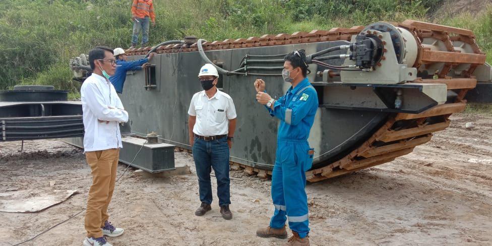 Amphibious pontoon pt PMP