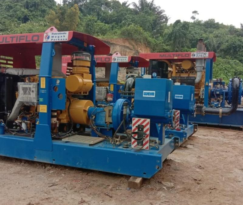 Ready for Rent RF420EXHV & MF385 Dewatering